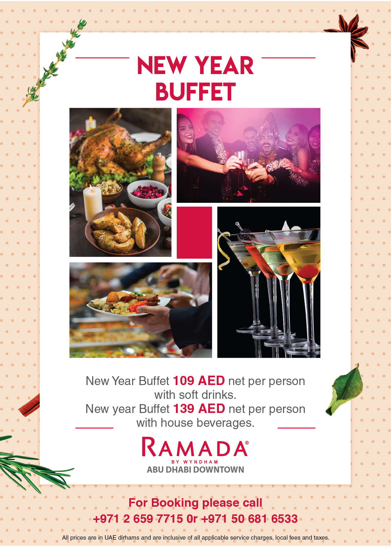 New Year Buffet