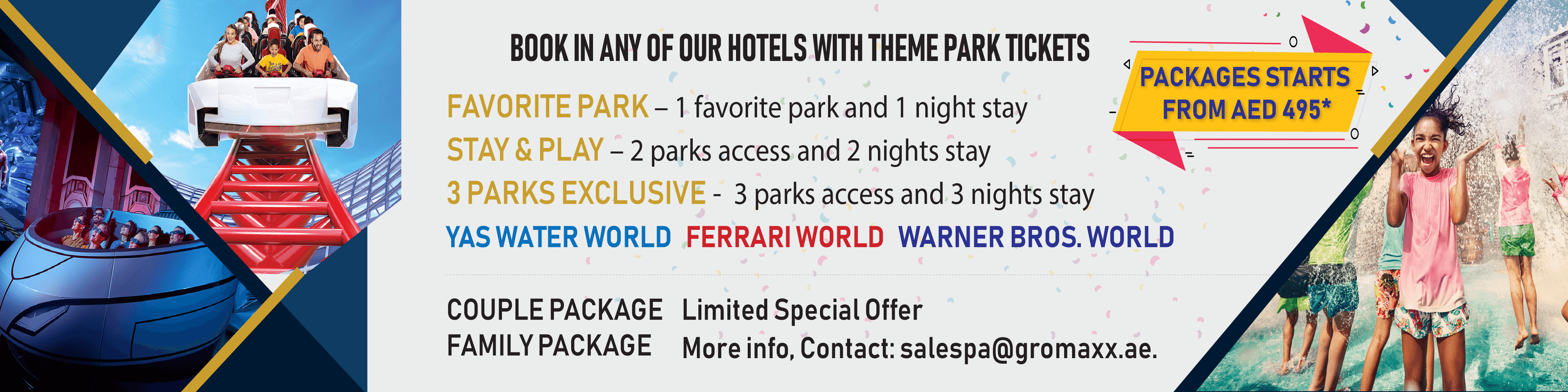 Theme Parks Offer