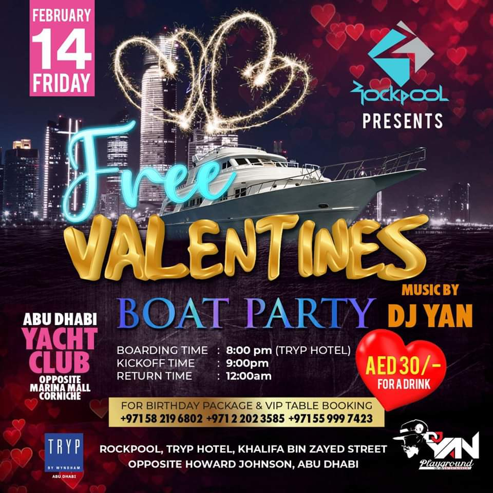 Valentine's Boat Party