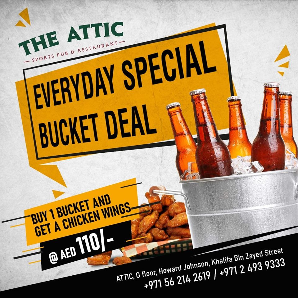 Every day special bucket deal